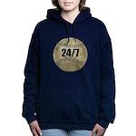 FIN-c-24-7-WonB Women's Hooded Sweatshirt