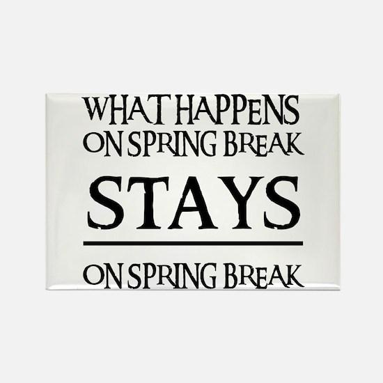 SPRING BREAK Rectangle Magnet (10 pack)