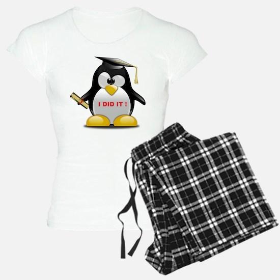 I DID IT , GRADUATION PENGU Pajamas