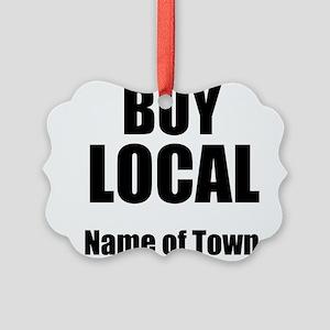 Buy Local Ornament