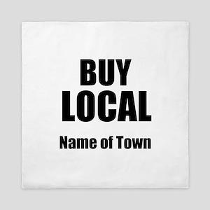 Buy Local Queen Duvet