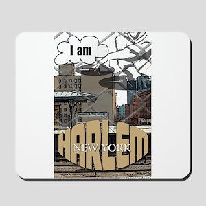 I AM HARLEM Mousepad