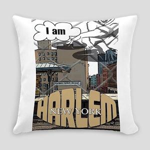I AM HARLEM Everyday Pillow
