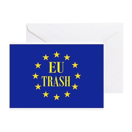 EU Trash Greeting Cards (Pk of 10)