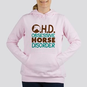 Funny Horse Women's Hooded Sweatshirt
