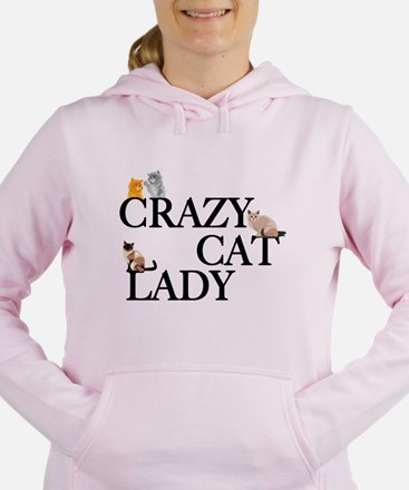 Crazy Cat Lady Women's Hooded Sweatshirt