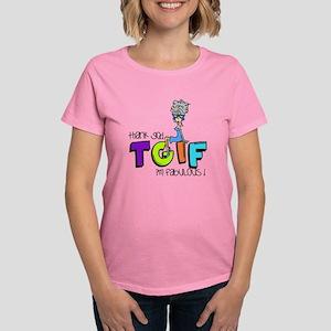 Thank God I'm Fabulous Women's Dark T-Shirt