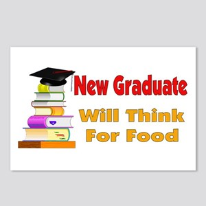 Will Think For Food Graduation Announcement (8 pk)