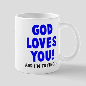 God loves you Mugs