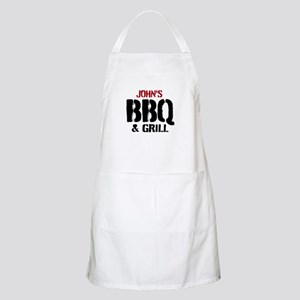 Personalized Bbq & Grill Apron For Men