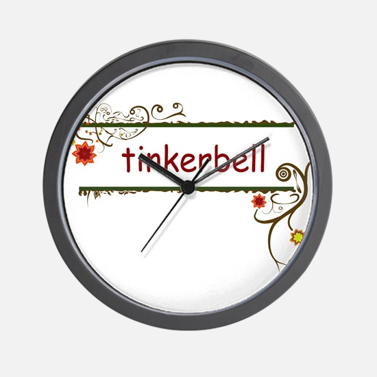 Tinkerbell Wall Clock