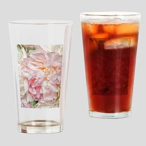 Blooming pink peonies 1 Drinking Glass