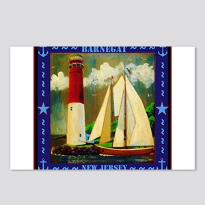 Barnegat Lighthouse Postcards (Package of 8)