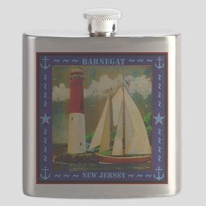 Barnegat Lighthouse Flask
