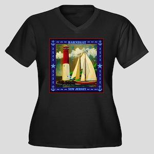 Barnegat Lighthouse Plus Size T-Shirt