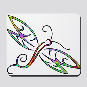 Colorful dragonfly Mousepad