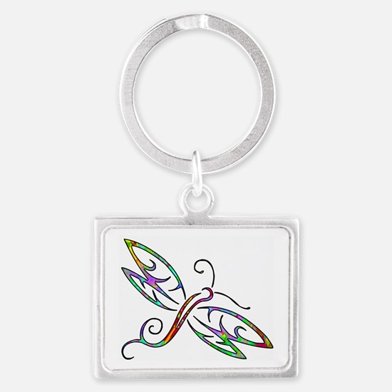Colorful dragonfly Keychains