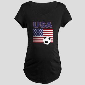 USA soccer Maternity T-Shirt