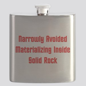 Avoided Materializing Inside Solid Rock Flask