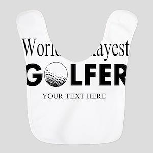 Worlds Okayest Golfer | Funny Golf Bib