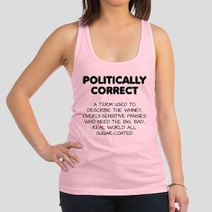 0bd11b4040359d Politically Correct Pansies Racerback Tank Top