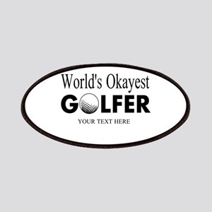 Worlds Okayest Golfer | Funny Golf Patches