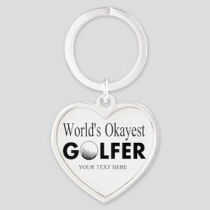 Worlds Okayest Golfer | Funny Golf Keychains