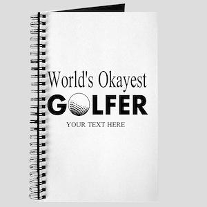 Worlds Okayest Golfer   Funny Golf Journal