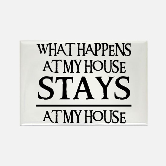 MY HOUSE Rectangle Magnet (10 pack)
