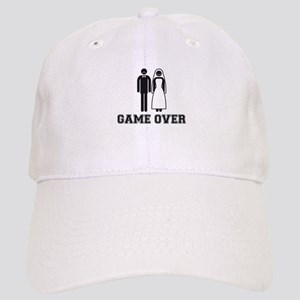 wedding couple game over Baseball Cap