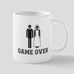 wedding couple game over Mugs