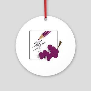 Grapes Ornament (Round)