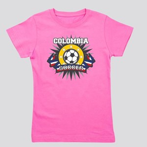 Colombia Soccer Girl's Tee