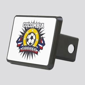 Colombia Soccer Rectangular Hitch Cover