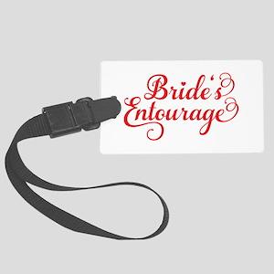 Brides Entourage Luggage Tag