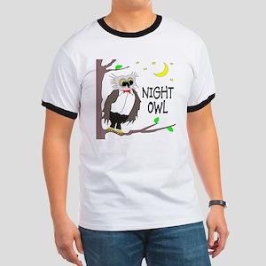 Night Owl Ringer T