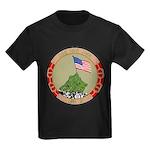 USS IWO JIMA Kids Dark T-Shirt