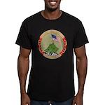 USS IWO JIMA Men's Fitted T-Shirt (dark)