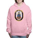 USS IWO JIMA Women's Hooded Sweatshirt