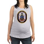 USS IWO JIMA Maternity Tank Top