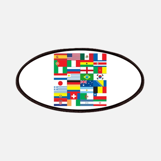 Flags of 32 Countries Patches