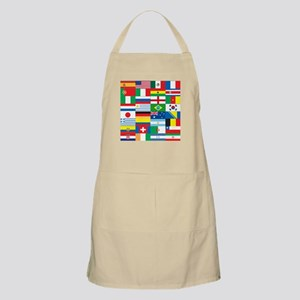 Flags of 32 Countries Apron