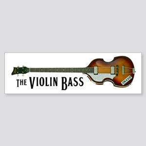 The Violin Bass bumper sticker