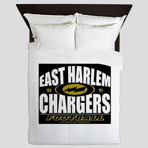 EAST HARLEM CHARGERS FOOTBALL Queen Duvet