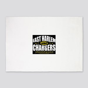 EAST HARLEM CHARGERS FOOTBALL 5'x7'Area Rug