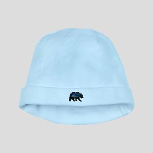 BEAR SKIES Baby Hat