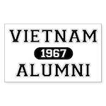 ALUMNI 1967 Sticker (Rectangle)