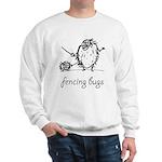 Fencing Bugs 1 Sweatshirt