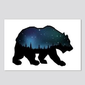 BEAR SKIES Postcards (Package of 8)