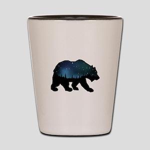 BEAR SKIES Shot Glass